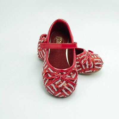NEW ChinaDoll USA Little Girls Mary Janes - Red/ White stripes - Size 7