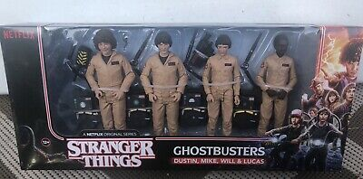 Stranger Things 2 Ghostbusters Costume 4 pack Figure Set McFarlane Netflix New