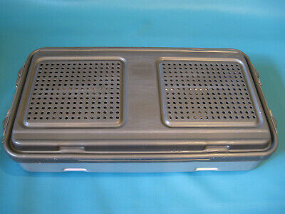 Genesis DePuy Synthes 62.006.001 Sterilization Case Full-One Level Perforated