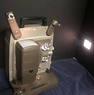 Vintage Antique BELL & HOWELL Film Projector 253 AX *WORKS*