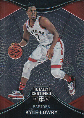 2016-17 Totally Certified Toronto Raptors Basketball Card #82 Kyle Lowry