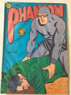 Frew Phantom comic book issue 391 flaws  good condition