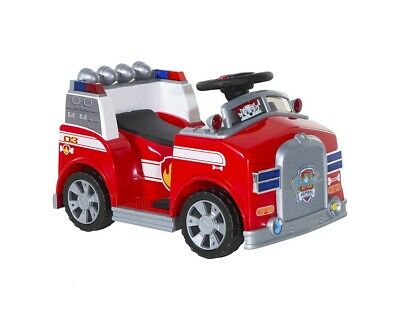 Paw Patrol Marshall Fire Truck Ride On Toy Red Outdoor Toddler 1 3