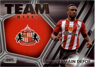 2016-17 Stadium Club English Premier League Team Marks #TM-7 Jermain Defoe