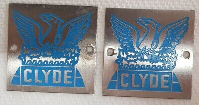 Queensland Rail Railway QR National railroadiana Clyde locomotive plaques 1980