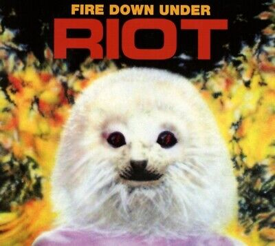 Riot - Fire Down Under Reissue CD Metal Blad NEW