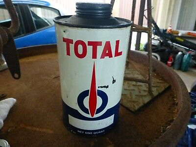 Original Australian Total Flame Quart Oil Tin
