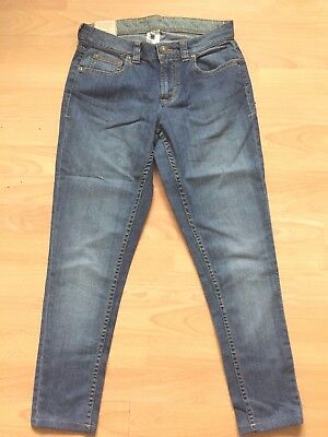 joules blue super skinny leg Fonda  DENIM JEANS size 8 new