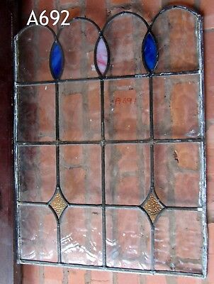 A692    Stained Glass Ca 1930s