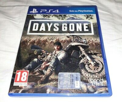 Ps4 Days Gone Playstation 4 Italiano Usato Sony Bend Studio
