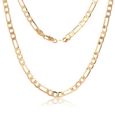 Fashion Cuban Link Chain Necklaces Mens Hip Hop  Thick Heavy 610mm 5mm