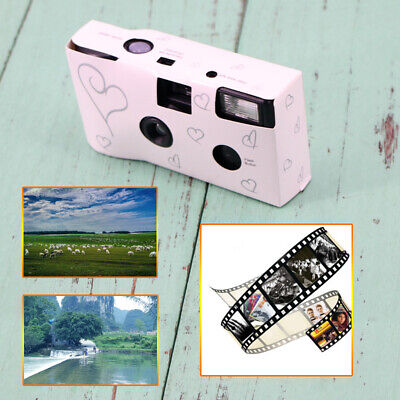 New Heart Wedding Party Single Use Disposable Bridal Cameras 36 film
