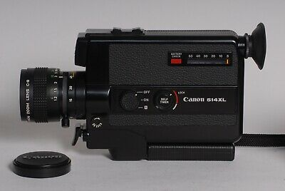Canon 514XL Top quality classic compact 8mm zoom Cine / Movie camera