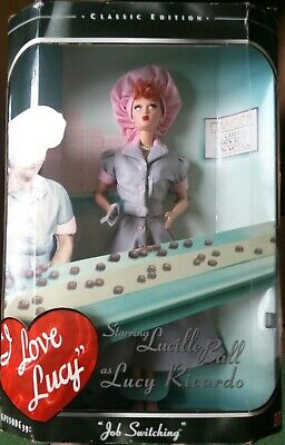 I Love Lucy Barbie Doll Classic Edition