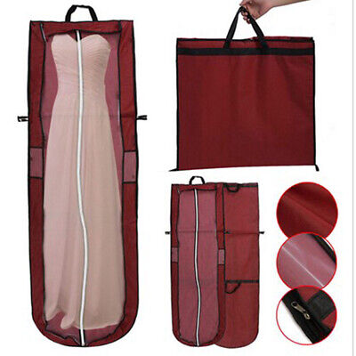 Extra Large Wedding Dress Bridal Gown Garment Foldable Cover Storage Bags A1Y0O