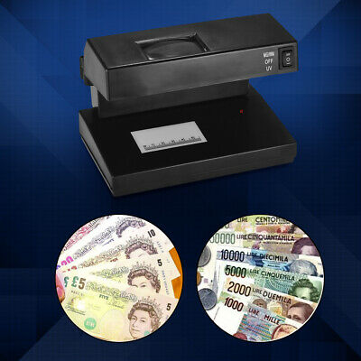 9W UV Money Checker - Detects Counterfeit Polymer & Paper Bank Notes Detector