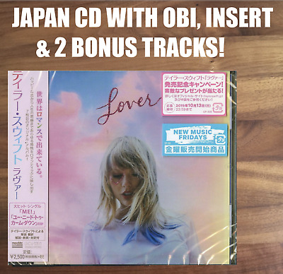 Japan Cd With Obi & Insert+ Tour Flyer Sent From Berlin! Taylor Swift Lover 2019