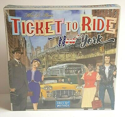 TICKET TO RIDE NEW YORK BOARD GAME - Days Of Wonder (2-4 Players)