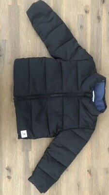 Country Road Baby Black Winter Puffer Jacket Size 1 (12-18 Months) As New