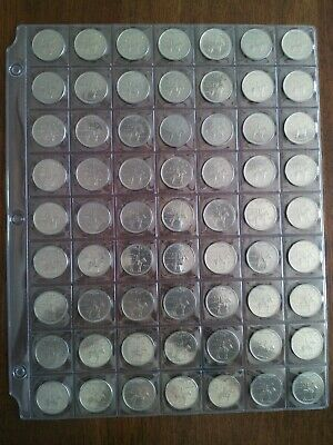 Lot of 63 Canadian RCMP 1973 Quarters (25c), No Reserve! (Lot #25)