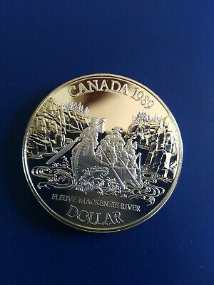 1989 Canadian Silver Dollar ($1), No Reserve!
