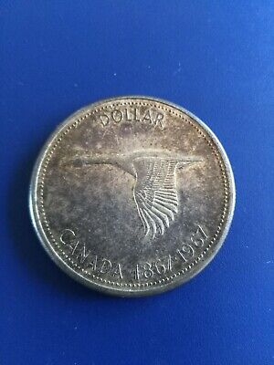 1967 Canadian Silver Dollar ($1), No Reserve!