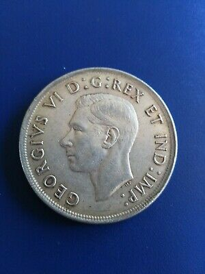 1939 Canadian Silver Dollar ($1), No Reserve!