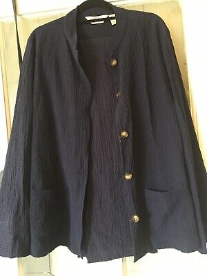 Vintage Orvis navy blue trouser suit in size S/M