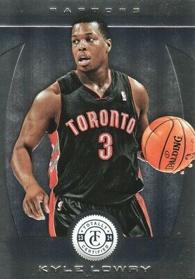2013-14 Totally Certified Toronto Raptors Basketball Card #119 Kyle Lowry