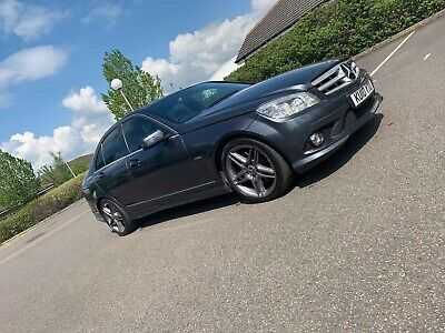 2010 Mercedes Benz C350 V6 Cdi Sport Blue Efficiency 5 Door Auto