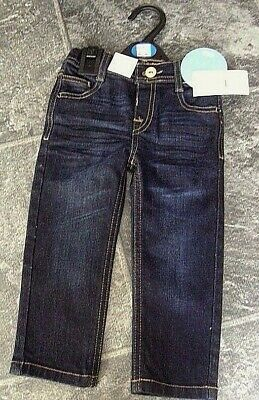 Ex Marks & Spencer girls adjustable waist denim jeans PICK YOUR SIZE New & Tag