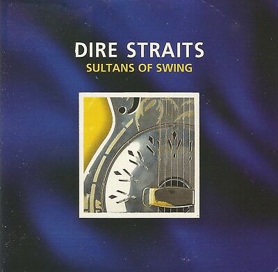 """Dire Straits """" Sultans Of Swing 1 Track, Cd Single Cardboard"""""""