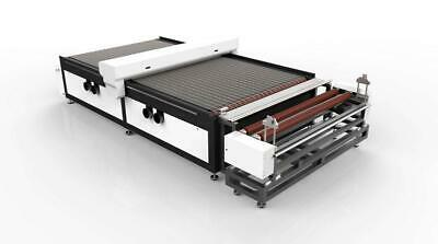 """Industrial Level 70""""x118"""" CO2 Laser Engraver with Auto Feeding 100W to 150W"""
