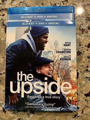 The Upside Blu Ray & DVD 2 Disc Set 2019 No Digital Included