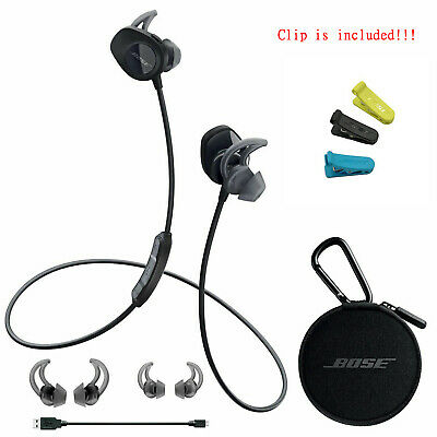 Bose SoundSport Wireless In Ear Bluetooth Headphones NFC Bose with clip