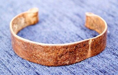 Antique African Nigerian Bronze Childs Slave Bangle Currency Bangle weight 22gs