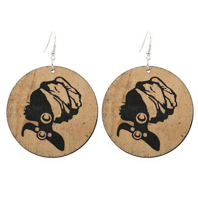 Jewellery Watches 1 Pair Good Quality Wood Earrings