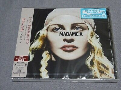 Madonna Madame X Japan Cd Album + Medellin Remix New Sealed Obi Uics-1352