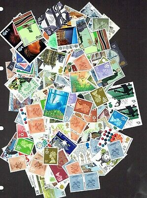 GB Stamps for postage £25 Face Value (10p - 19p range), Full Gum, Never Used.