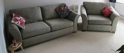 Marks & Spencer M&S Abbey Love Seat; Meredith Mink Fabric; Excellent Condition