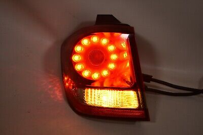 Tail Light For 2009-2018 Dodge Journey Right Outer Halogen With Bulb CAPA