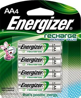 ==  Energizer AA Rechargeable Battery 4 pack /  2000mAh size  /  New Sealed  ==