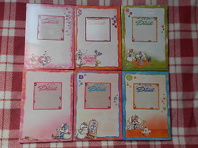 Diddl Letter Pad (50 sheets) - A5 - Change Image Block - New and sealed!