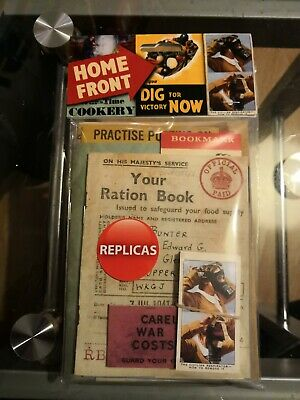 Home Front - Replica Pack - Memorabilia - WWII - History - Leaflets - Images