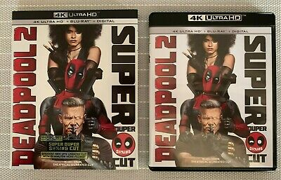 Deadpool 2 Super Duper Cut (2 Disc Blu-Ray Set + Digital) **No 4K Discs**