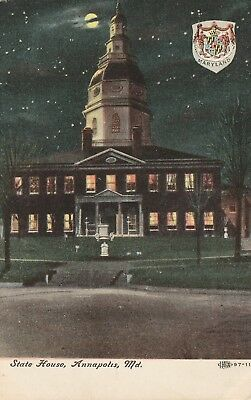 "*Maryland Postcard-""The State House"" ...Annapolis-"