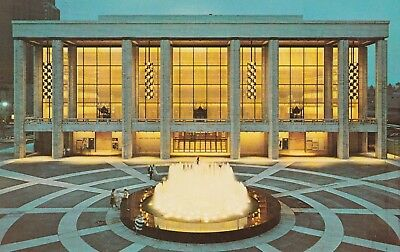 "*New York Postcard-""Lincoln Center for The Performing Arts"" /NY State Theatre/"