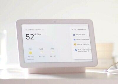 Google Home Hub - Smart Home Controller with Google Assistant-White Charcoal