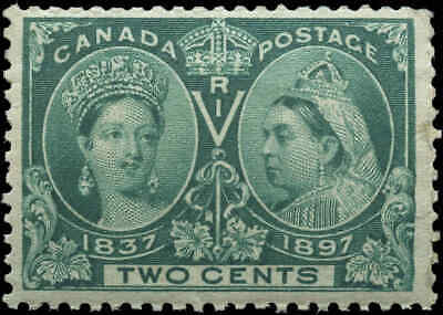 Mint Canada 1897 2c Scott #52 Diamond Jubilee Issue Stamp Never Hinged