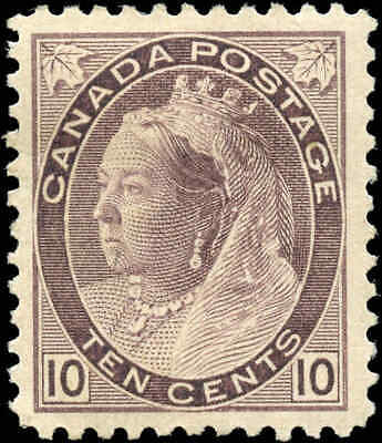 1893 Mint Canada Scott #8310c Queen Victoria Numeral Issue Stamp Hinged